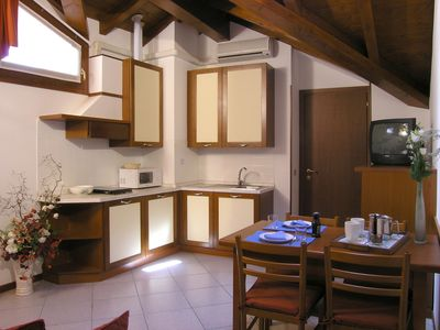 Photo for Two-room apartment 4 at Residenza Antico Pozzo, ideal for a couple with children