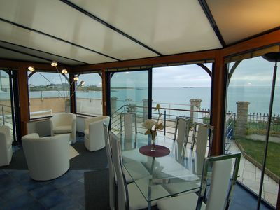 Photo for New: directly on the beach with a private pool and a beach access