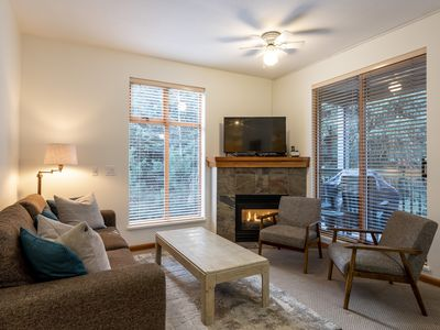 Photo for 2 Bedroom, 2 Bathroom Village Townhome with outdoor communal pool and Hot Tub