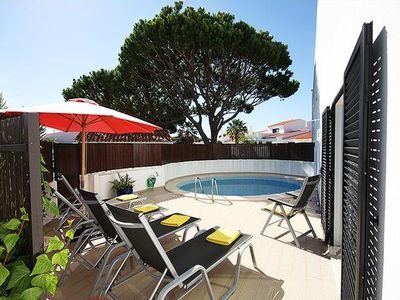Photo for This very attractive and feature packed apartment with private plunge pool has just been completely