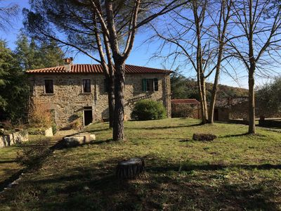 Photo for Spacious Estate in Tuscany with Garden, Terrace and Parking; Pets are allowed