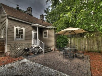 Kick back and relax in your private courtyard complete with a weber grill and pa