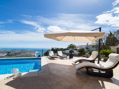 Photo for Villa Aura is a sunny family villa with a breathtaking view