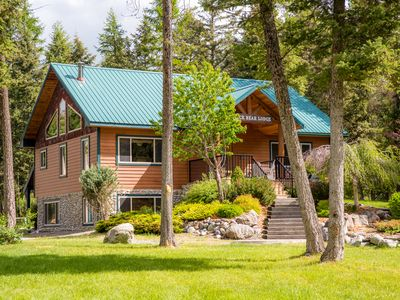 Photo for LUXURY VACATION HOUSE near Golf, Skiing. Glacier Park and downtown Whitefish