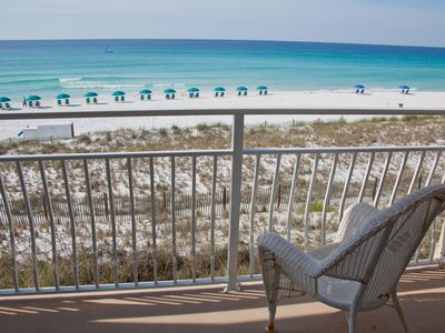 Photo for CRYSTAL SANDS  Remodeled 1 Bedroom / Gulf Front 214A