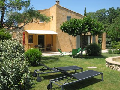 Photo for The cottage 'Les Euphorbia' ... olive trees, .. cicadas, Provence ...