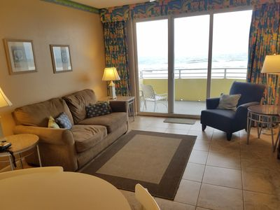 Photo for Beautiful 1 Bedroom, Ocean Front On The 5th Floor, Wyndham Ocean Walk