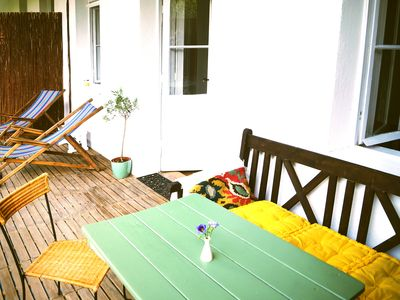 Photo for Charming balcony apartment at Schönbrunn + Bikes!