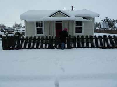 Photo for Inviting Railway Cottage. Old World Charm with Modern Conveniences.