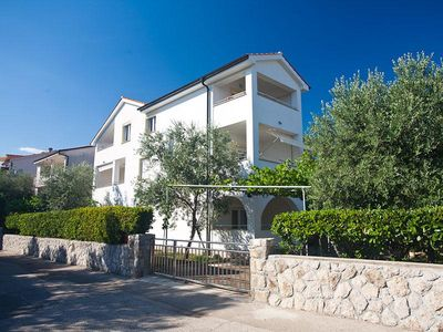 Photo for Lovely and comfortable apartment in Krk, Island Krk, Croatia for 4 persons