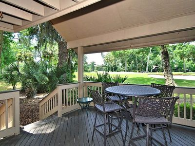Photo for 3 bedroom/ 3 bathroom Fazio villa located in the beautiful Palmetto Dunes plantation with Golf Cours