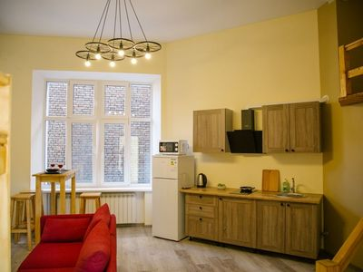 Photo for Apartment eco-style near the Cathedral Square