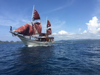 Photo for Amazing  Sail to Komodo 7 Cabins Boat