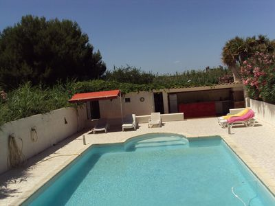 Photo for APARTMENT IN RDC FOR 4 WITH SWIMMING POOL AND PRIVATE TERRACE.