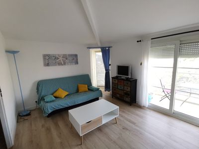 Photo for T2 rental in the Minimes, peaceful, sunny, by the beach