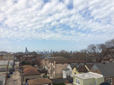 The Skyline View from Our Deck