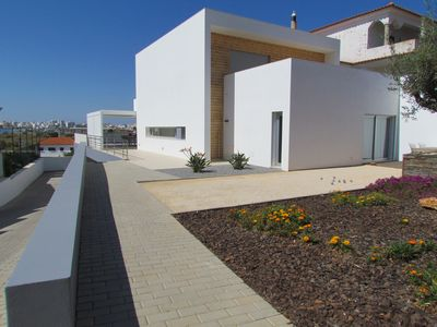 Photo for Fantastic, modern villa with private pool and with spectacular view on the river