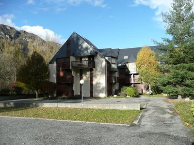 Photo for Apartment T2 cabin 6 P 38m2 quiet with sauna and jacuzzi near telecabi