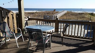 Photo for Beautiful Views from Our Oversized Deck and Beachfront Condo