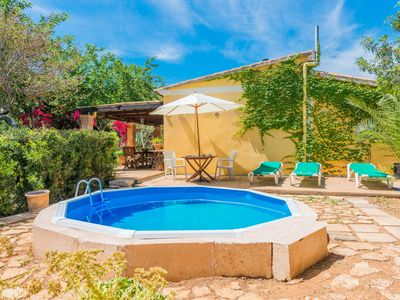 Photo for SA MARJAL - Chalet with private pool in MURO.