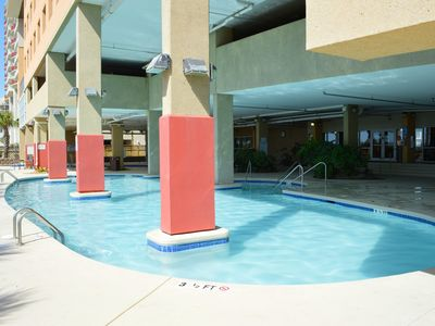 Photo for Full Service Beach Suite with a Balcony | Seasonal Indoor Pool