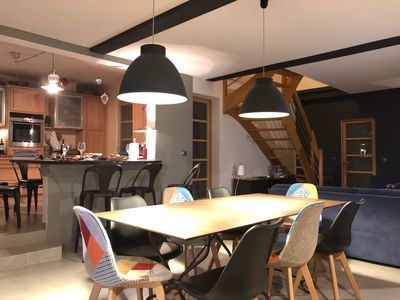 Photo for Comfortable and spacious house in quiet hamlet with sauna, spa and pool