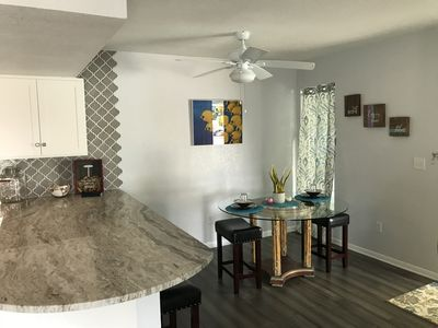 Photo for Large 1 Bed 1.5 Bath steps to the Beach, Recently Remodeled