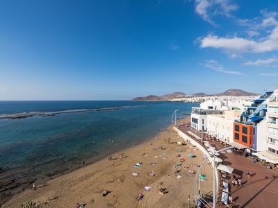 Photo for Beachfront & 100m2 by Living Las Canteras