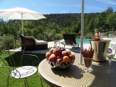 Photo for Villa with pool 8 kms from Aix en Provence