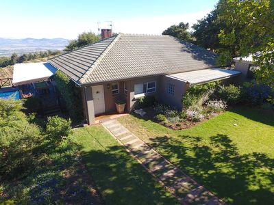 Photo for Home with magnificent views high up on the Helderberg mountain
