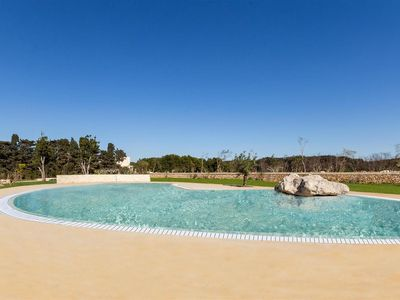 Photo for 606 Apartment with Pool at 250 Meters from Beach in Otranto