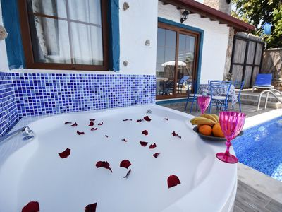 Photo for KAY4400-Secluded Private Villa in Kayakoy For 4 People