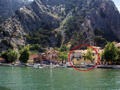 Photo for Apartment in Omiš (Omiš), capacity 2+0