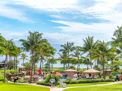 Photo for K B M Hawaii: Ocean Views, Huge Lanai 2 Bedroom, FREE car! Jul & Sep Specials From only $279!