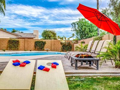 Photo for NEW LISTING! Beautiful, remodeled home w/pool, hot tub, jetted tub - 1 dog OK