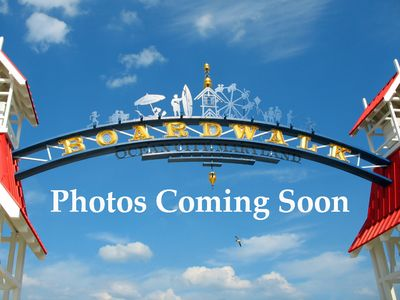 Photo for Newly-Updated in Downtown Area - 2.5 Blocks to the Boardwalk!