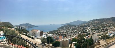 Panoramic View From villa