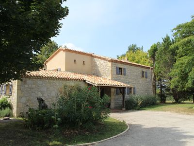 Photo for Charming house in Quercy with private pool and tennis