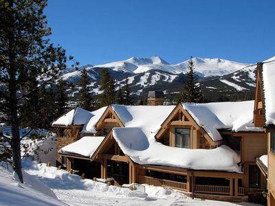 Photo for Mountain Views, Private Theater, Hot Tub, Free Shuttle: Mont Vista Château
