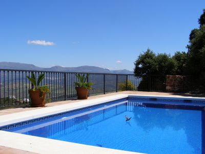 Swimming Pool  - 8 x 4 metres with interior steps for easy access