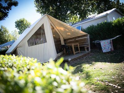 Photo for Camping L'Atlantique **** - 3-room Safari tent 4 people without bathroom facilities