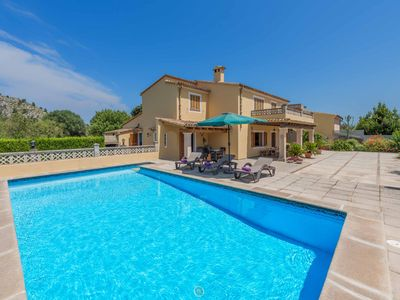Photo for Can Pansa - This Villa includes a private pool, WI-FI & A/C