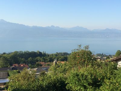 Photo for Belmont Sur Lausanne: Studio in a chalet overlooking the lake