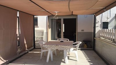 Photo for SEA FRONT Apartment in Località Rosso Place (Marina di Alliste)