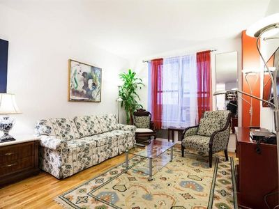 Photo for Apartment in New York with Internet, Air conditioning, Lift, Washing machine (967993)