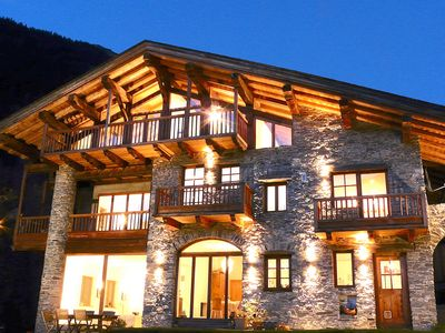 Photo for Stunning Chalet with Incredible Views: Ski Ste Foy,Val d'Isere,Les Arcs: Catered