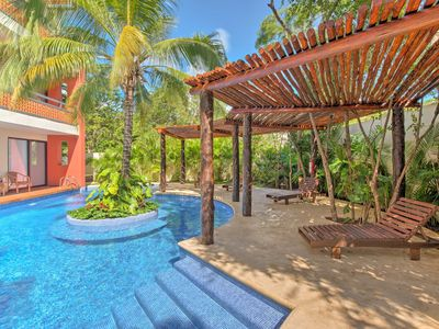 Photo for NEW! Modern Resort Style Tulum Condo w/ Pool!
