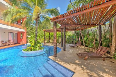 This luxurious Tulum condo awaits your group of up to 6!