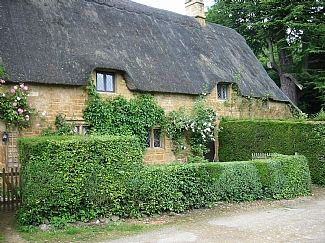Picturebook Cotswold Thatched Cottage