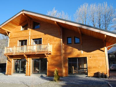 Photo for hire new chalet 12 people
